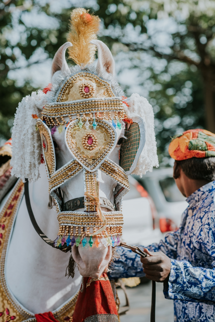 FIH Fotografie » Sehera Bandhi in and Baraat procession